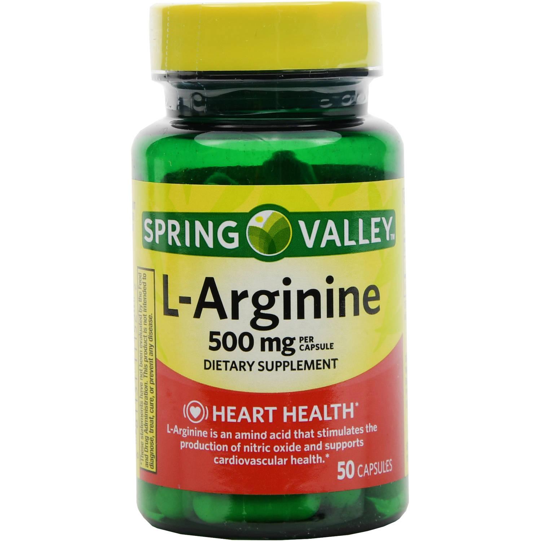 L'ARGININE 500mg - Pharmacia Americana